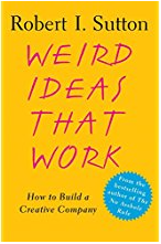Book cover; weird ideas that work